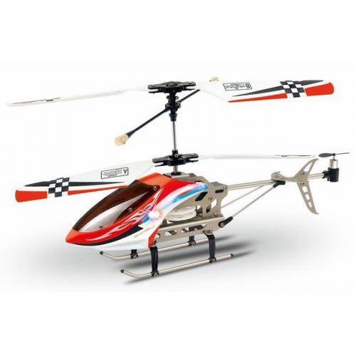 Радиоуправляемый вертолет V-max GYRO в алюминиевом КЕЙСЕ (яркие светодиоды)